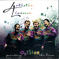 Artistic License : Painting Outside the Lines : 00  1 CD
