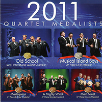 Barbershop Harmony Society : Top Quartets 2011 : 00  1 CD :  : 205129