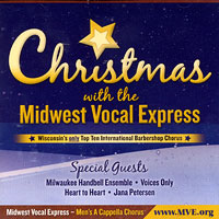 Midwest Vocal Express : Christmas With MVE : 00  1 CD :