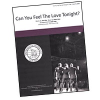 "Close Harmony For Men : <span style=""color:red;"">Can You Feel the Love Tonight</span>? : TTBB : Sheet Music : 812817020313 : 00137946"