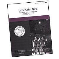Close Harmony For Men : Little Saint Nick : TTBB : Sheet Music : Brian Wilson : 812817020283 : 00137953
