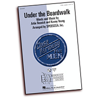 Close Harmony For Men : Under the Boardwalk - 4 Charts and Parts CD : TTBB : Sheet Music & Parts CD : 884088068844 : 08745487