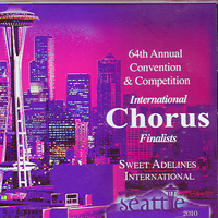 Sweet Adelines : Top Choruses 2010 : 00  1 CD : RC1024