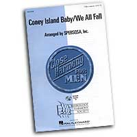 Close Harmony For Men : Coney Island Baby / We All Fall - 4 Charts and Parts CD : TTBB : Sheet Music & Parts CD :  : 884088063153 : 08745389
