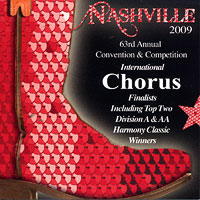 Sweet Adelines : Top Choruses 2009 : 00  1 CD : RC1022