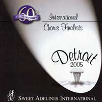 Sweet Adelines : Top Choruses 2005 : 00  1 CD : RC1014