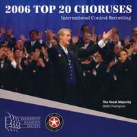 Barbershop Harmony Society : Top Choruses 2006 : 00  1 CD :  : 4178