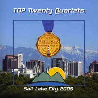 Barbershop Harmony Society : Top Quartets 2005 : 00  1 CD : 4634