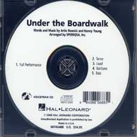 Close Harmony For Men : Under the Boardwalk - Parts CD : TTBB : Parts CD :  : 884088068851 : 08745488