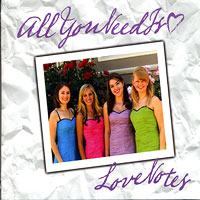 Love Notes : All You Need is Love : SSAA : 00  1 CD :