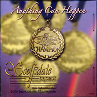 Scottsdale Chorus : Anything Can Happen : 00  1 CD :