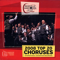 Barbershop Harmony Society : Top Choruses 2008 : 00  1 CD :  : 201292