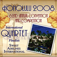 Sweet Adelines : Top Quartets 2008 : 00  1 CD : RC1021