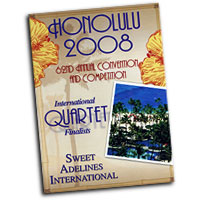 Sweet Adelines : Top Quartets 2008 : DVD : AV1049