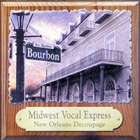 Midwest Vocal Express : New Orleans Decoupage : 00  1 CD :