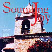 American Repertory Singers : Sounding Joy : 00  1 CD : Leo Nestor :  : 105