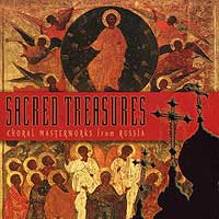 Various Artists : Sacred Treasures - Choral Masterworks From Russia : 00  1 CD :  : 11109