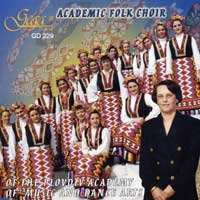 Academic Folk Choir : Academic Folk Choir : 00  1 CD : 229