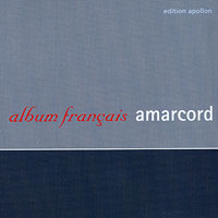 Ensemble Amarcord : Album Francais : 00  1 CD :  : 10107