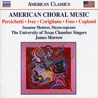 University of Texas Chamber Singers : American Choral Music : 00  1 CD :  : 8.559299