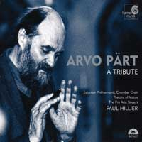 Theatre of Voices : Arvo Part - A Tribute : 00  1 CD : Paul Hillier : Arvo Part : 907407