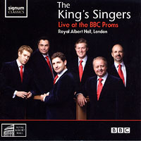 King's Singers : Live at the BBC Proms : 00  1 CD : SIGCD150