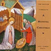 Boston Camerata : Mediaevel Christmas : 00  1 CD : Joel Cohen :  : 2-71315
