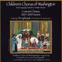Children's Chorus of Washington : 2004 - 05 Season : 00  1 CD :