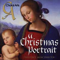 Choral Arts of Chattanooga : A Christmas Portrait : 00  1 CD : Philip Rice :