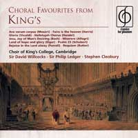 Choir of King's College, Cambridge : Choral Favorites From King's : 00  1 CD :  : EMC75943.2