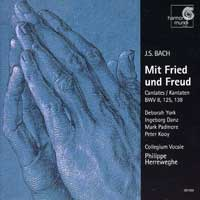 Collegium Vocale : J S Bach - Mit Friend and Freud : 00  1 CD : Johann Sebastian Bach :