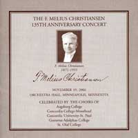 Concordia Choir : F. Melius Christiansen 135th Anniversary Concert : 00  2 CDs : Rene Clausen :  : 29434