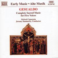 Oxford Camerata : Celestial Harmonies - Gesualdo : 00  1 CD : Carlo Gesualdo : 8.557983