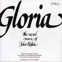 Cambridge Singers : Gloria : 00  1 CD : John Rutter :  : 515