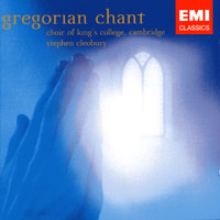 Choir of King's College, Cambridge : Gregorian Chant : 00  1 CD : Stephen Cleobury :  : 72435579832