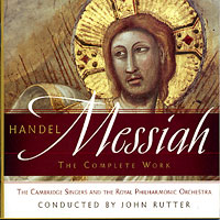 Cambridge Singers : Handel Messiah - The Complete Works : 00  2 CDs : George Frideric Handel : 001085