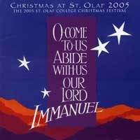 St. Olaf Choir : O Come To Us, Abide With Us Our Lord : 00  2 CDs :  : E 2838