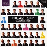 King's Singers : Tallis: Spem In Alium : 00 SACD : Thomas Tallis : 071