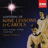 Choir of King's College, Cambridge : A Festival Of Nine Lessons And Carols : 00  2 CDs : Stephen Cleobury :  : EMC73693.2