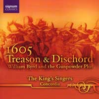 King's Singers : Treason & Discord : 00  1 CD : 061
