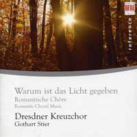 Dresden Boys' Choir : Romantic Choral Music : 00  1 CD : Gothart Stier :  : 1351