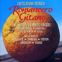 Los Angeles Chamber Singers : Romancero Gitano : 00  1 CD : Peter Rutenberg : 19802