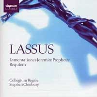 Collegium Regale : Lassus : 00  1 CD : Stephen Cleobury : Orlando Lassus : 076