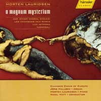Chamber Choir of Europe : O Magnum Mysterium : 00  1 CD : Nicol Matt : Morten Lauridsen : 98272