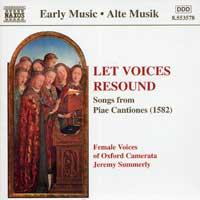 Female Voices of Oxford Camerata : Let Voices Resound : 00  1 CD : Jeremy Summerly : 8.553578