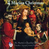 St Martin's Chamber Choir : A Marian Christmas : 00  1 CD :  : 7905