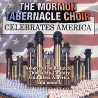 Mormon Tabernacle Choir : Celebrates America : 00  1 CD : Richard P. Condie / Eugene Ormandy :  : 079895457428 : 4A54574