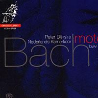 Netherlands Chamber Choir : Bach - Motets : 00 SACD : Peter Dijkstra : Johann Sebastian Bach : 27108