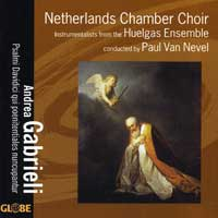 Netherlands Chamber Choir : Andrea Gabrieli - Psalms of David : 00  1 CD :  : 5210