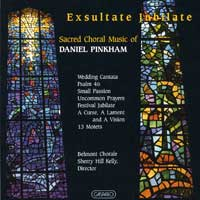 Belmont Chorale : Exsultate Jubilate : 00  1 CD : Sherry Hill Kelly :  : 288